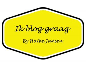 Ik blog graag